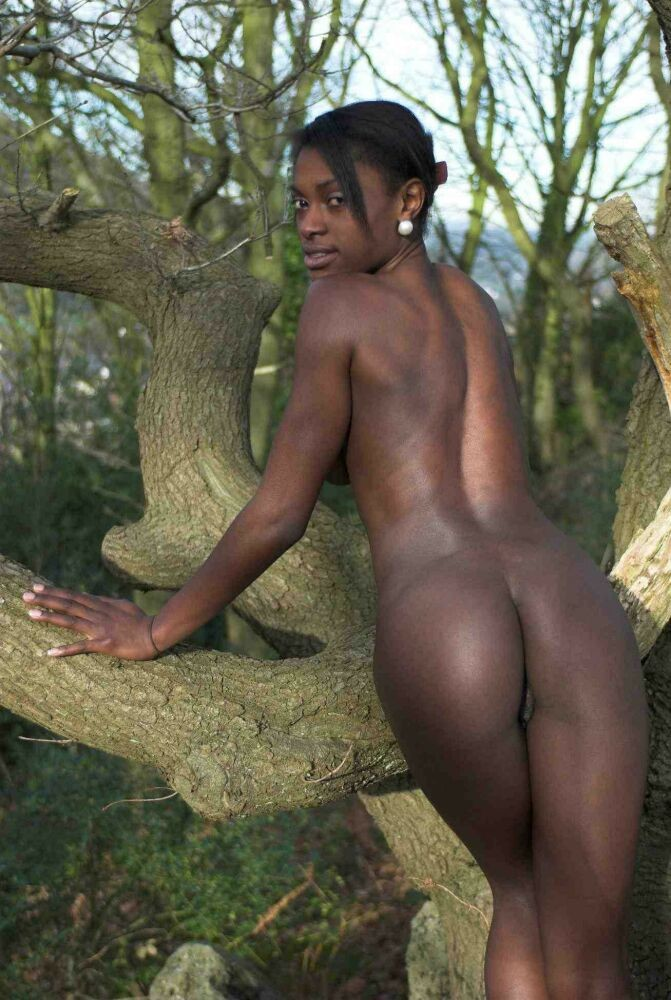 Teenie Blacks - Dark-hued nubile..