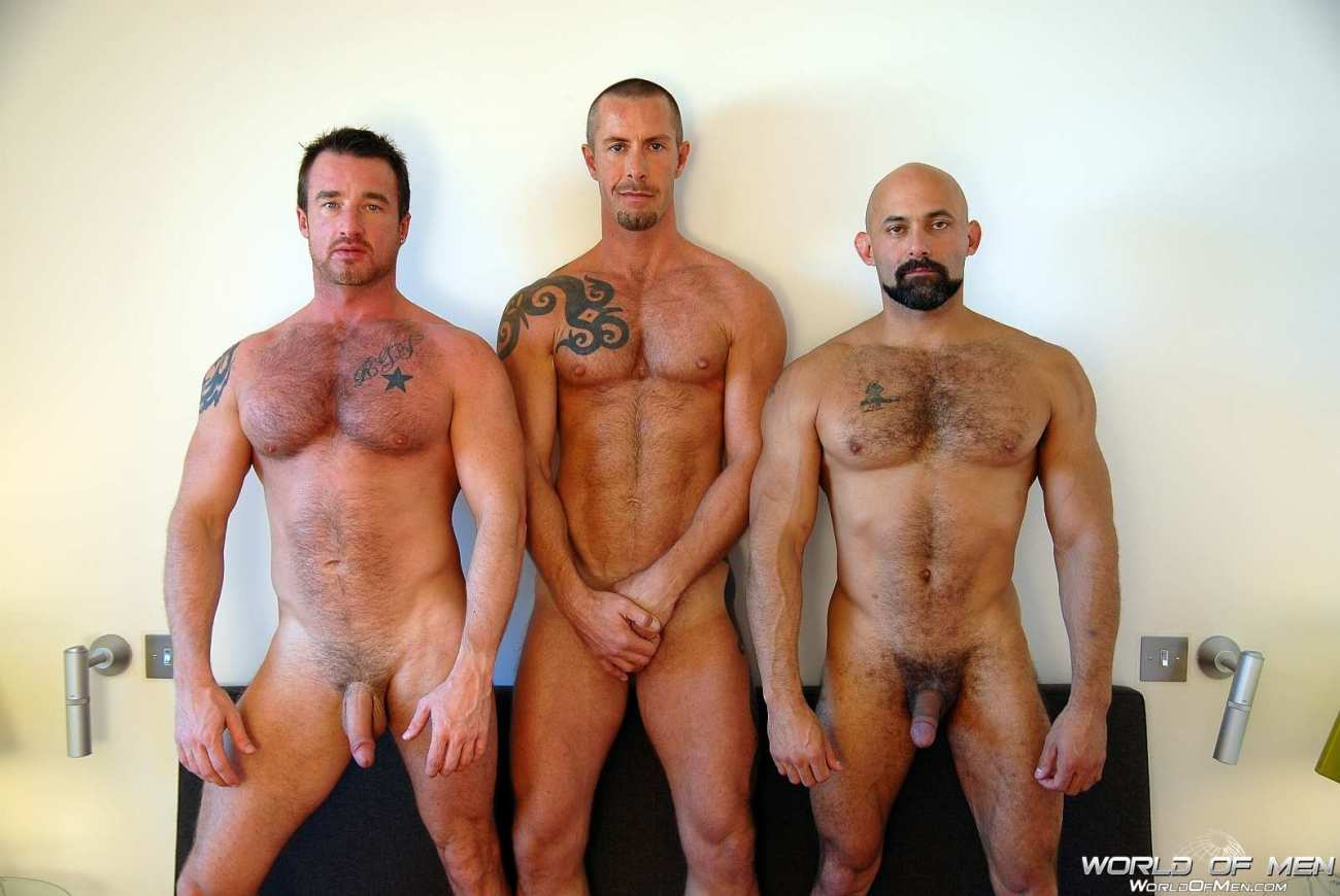 Rocco Banks, Rocky Torrez and Ross..