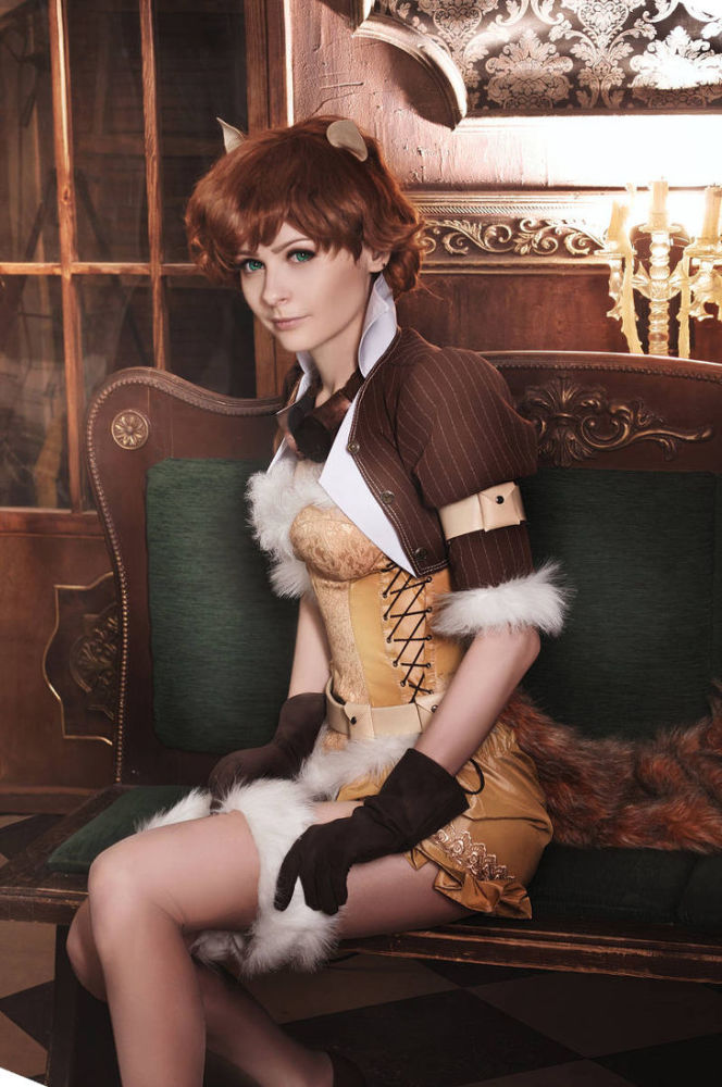 Steampunk Squirrel Lady from Miracle..