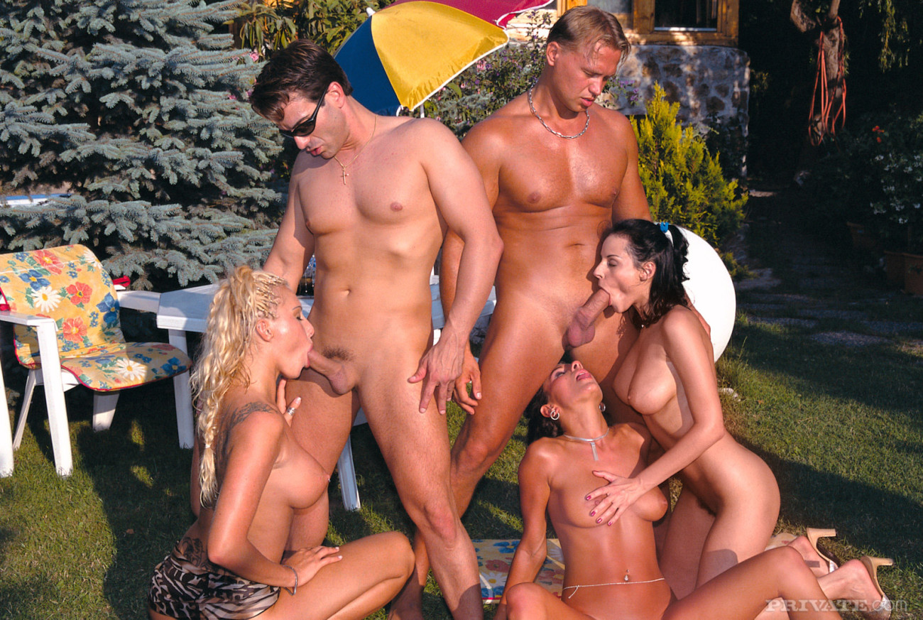 Personal outdoor romp with promiscuous..