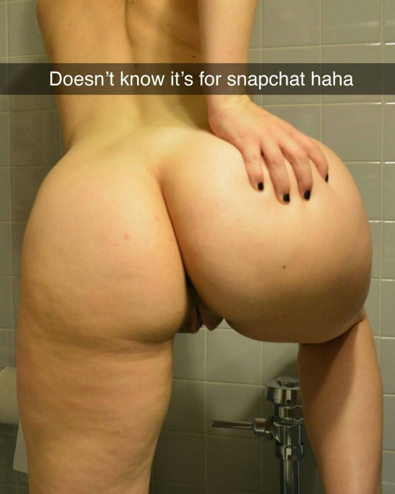 Snapchat Nude I Like Your Bum n Hooters