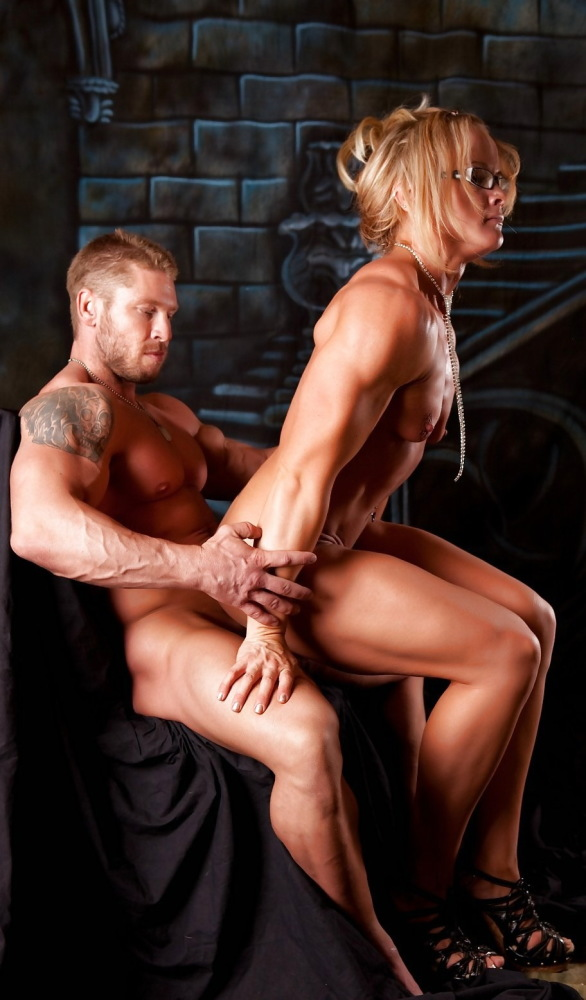 Sexual damsel muscles