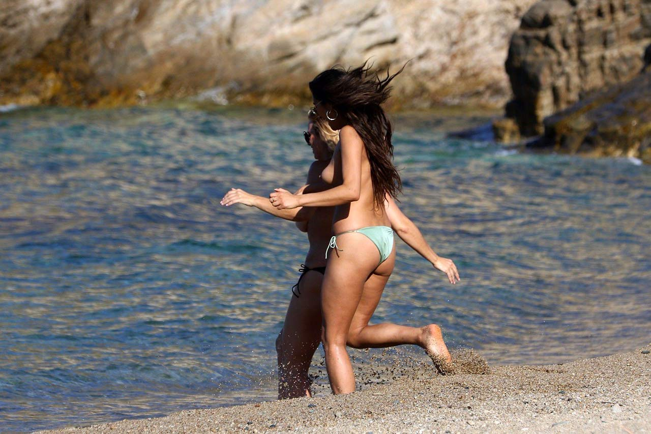 Shay Mitchell Naked Knockers In..