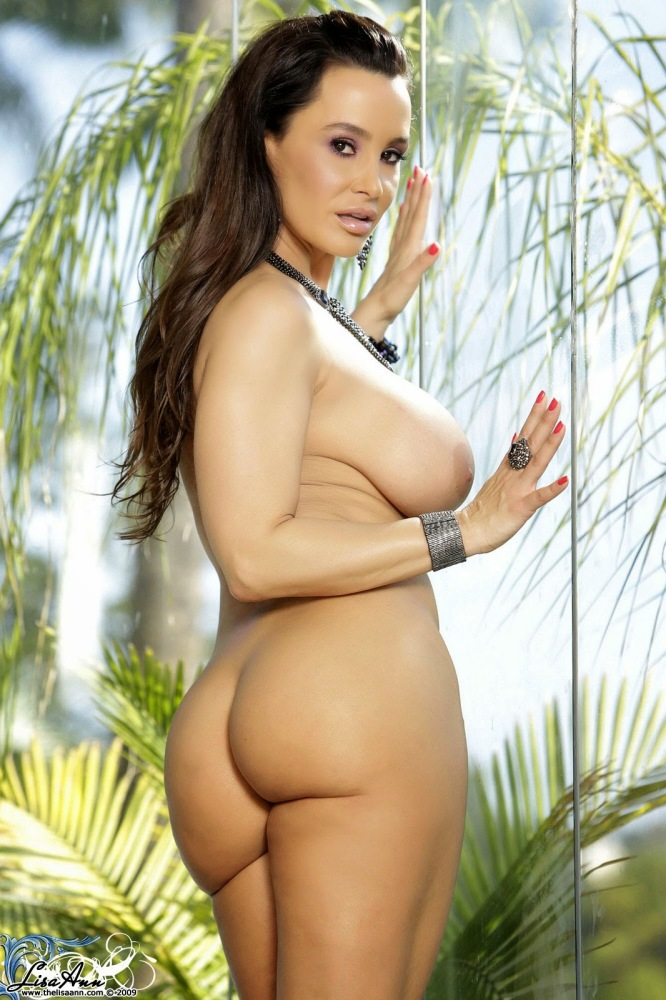 Lisa Ann Posing in a Solo Photoshoot..