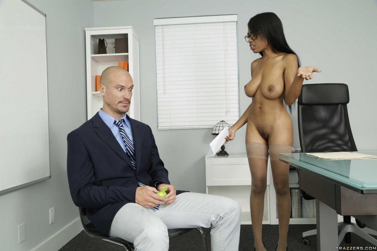 Sean Lawless is her  employee. Nude..
